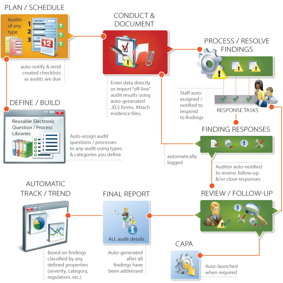 audit process management software