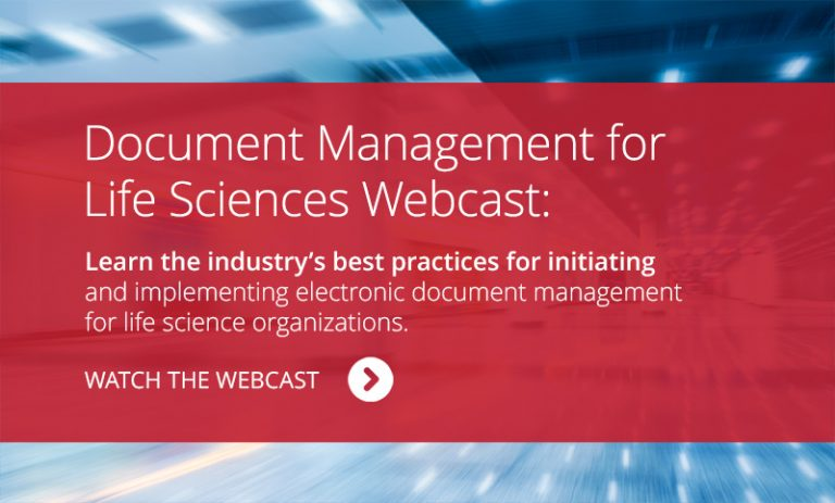 Watch the WEBCAST: AssurX Document Management for Life Sciences Best Practices Webcast.