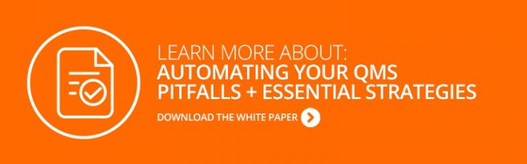 White Paper: Automating Your QMS - Pitfalls and Essential Strategies