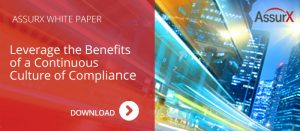 AssurX White Paper: Leveraging a Culture of Compliance in the Utilities Industry