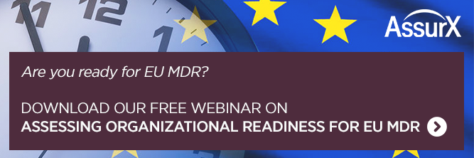 Assessing Organizational Readiness for EU MDR
