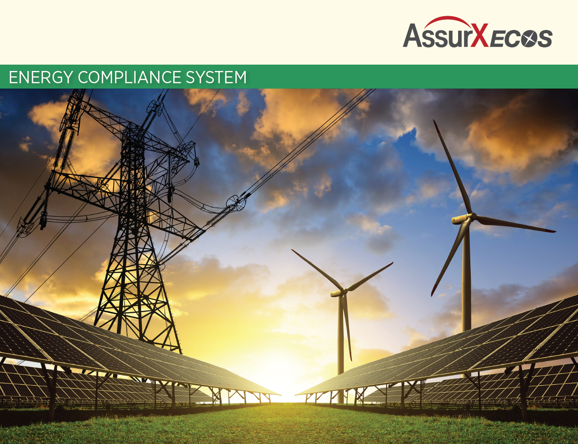 AssurX ECOS system for Energy & Utilities compliance